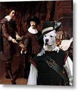American Staffordshire Terrier Art Canvas Print Metal Print