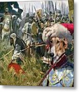 Chart Polski - Polish Greyhound Art Canvas Print Metal Print