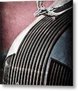 1935 Pontiac Sedan Hood Ornament Metal Print