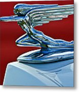 1936 Packard Hood Ornament Metal Print