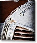 1938 Dodge Ram Hood Ornament Metal Print