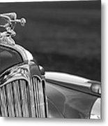 1942 Packard Darrin Convertible Victoria Hood Ornament Metal Print