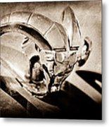 1952 Dodge Ram Hood Ornament Metal Print