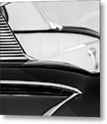 1958 Chevrolet Belair Abstract Metal Print