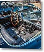 1959 Chevy Corvette Convertible Painted  Metal Print