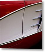 1959 Chevy Corvette Metal Print