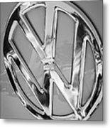 1959 Volkswagen Vw Panel Delivery Van Emblem Metal Print