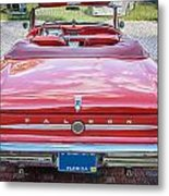 1963 Ford Falcon Sprint Convertible  Metal Print