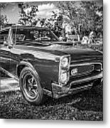 1967 Pontiac Gto Bw Metal Print