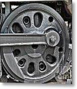 4-8-8-4 Wheel Arrangement Metal Print