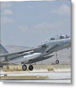 A Royal Saudi Air Force F-15 Metal Print