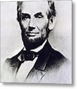 Abraham Lincoln Metal Print by Anonymous
