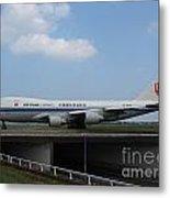 Air China Cargo Boeing 747 Metal Print