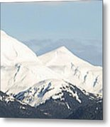 Alaskan Landscape Metal Print