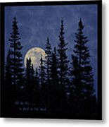All We Are Is Dust In The Wind Metal Print