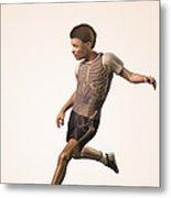 Anatomy Of Movement Child Metal Print
