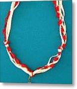 Aphrodite Genetyllis Necklace Metal Print