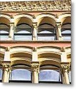 Arch Windows Metal Print