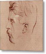 Arnold Bennett (1867-1931) Metal Print
