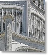 Bahai Temple Wilmette Metal Print