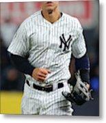 Baltimore Orioles v New York Yankees Metal Print
