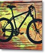 Bike 10 Metal Print by William Cauthern