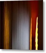 Blur City Metal Print