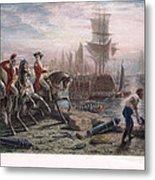 Boston: Evacuation, 1776 Metal Print