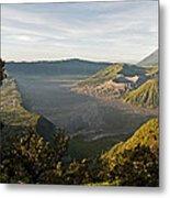 Bromo Valley Java Indonesia Metal Print