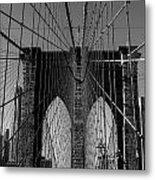 Brooklyn Bridge Metal Print