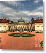 Buchlovice Castle Metal Print