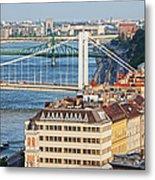 Budapest Cityscape Metal Print