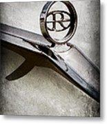 Buick Riviera Hood Ornament  Metal Print