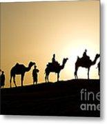 Camel Caravan, India Metal Print