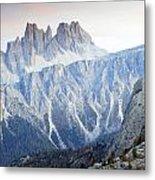 Charming Dolomites Metal Print