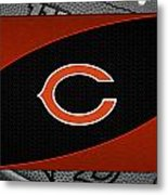 Chicago Bears Metal Print by Joe Hamilton