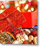 Christmas Box Metal Print