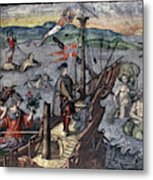 Christopher Columbus (1451-1506) Metal Print
