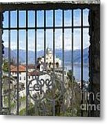 Church Madonna Del Sasso Metal Print