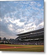 Cincinnati Reds V Chicago Cubs Metal Print
