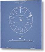 Circular Saw Patent Drawing From 1899 Metal Print