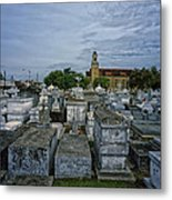 City Of The Dead - New Orleans Metal Print