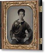 Civil War Sailor, C1863 Metal Print