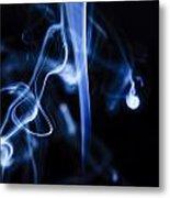 Colored Smoke Metal Print