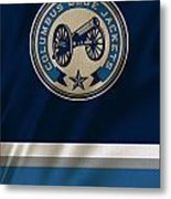 Columbus Blue Jackets Uniform Metal Print