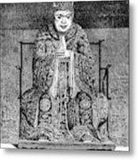 Confucius (c551-479 B Metal Print
