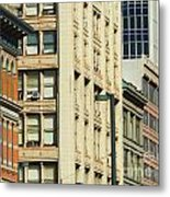 Denver City Scenes Metal Print