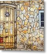 Doors Of Tel Aviv Metal Print