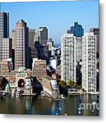 Downtown Boston Skyline Metal Print