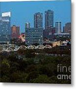 Downtown Fort Worth Texas Metal Print